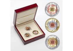 Luxemburg 2018 2½ euro Unesco 2018-2019-2020 Proof