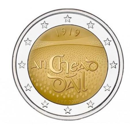 2 euro Ierland 2019 Dail Eireann Unc Voorverkoop*