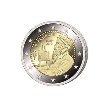 """2 Euro België 2019 """"450 jaar  Bruegel"""" Proof Voorverkoop* (levering in februari)"""