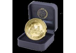 """België 2019 50 euro """"Bruegel-Renaissance"""" goud Proof Voorverkoop (levering februari)"""