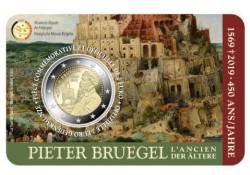 """2 Euro België 2019 """"450 jaar  Bruegel"""" Bu in coincard Waals Voorverkoop*"""