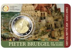 """2 Euro België 2019 """"450 jaar  Bruegel"""" Bu in coincard Vlaams Voorverkoop*"""
