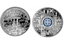 Griekenland 2018 6 euro Ýear of Mathematics' Zilver proof