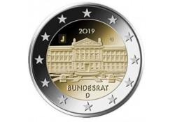 2 Euro Duitsland 2019 G Bundesrat Unc
