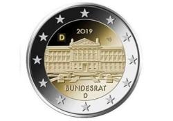 2 Euro Duitsland 2019 D Bundesrat Unc