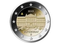 2 Euro Duitsland 2019 A Bundesrat Unc