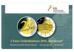 2 Euro Duitsland 2019 A Bundesrat in Coincard
