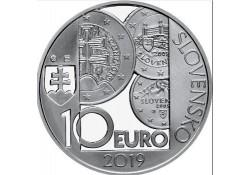 Slowakije 2019 10 Euro Bu 10 Jaar Euro