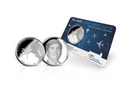 Nederland 2019 Het Luchtvaart vijfje Unc in coincard