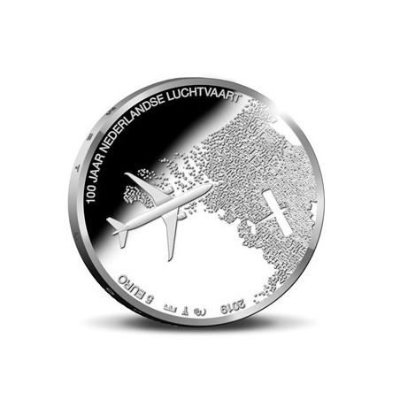 Nederland 2019 Het Luchtvaart vijfje Unc