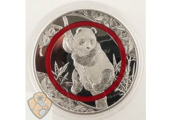 Tanzania 2019 1000 Shillings Panda Zilver Proof Polymer