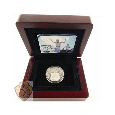 Nederland 2005 5 Euro Vrede & Vrijheid zilver Proof 1e slag
