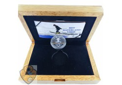 Nederland 2010 5 Euro Waterland  Zilver Proof  Ceremoniële 1e slag