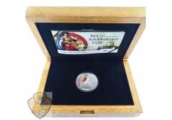 Nederland 2011 5 Euro Schilderkunst  Zilver Proof  Ceremoniële 1e slag