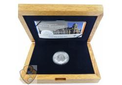 Nederland 2011 5 Euro Muntgebouw Zilver Proof  Ceremoniële 1e slag
