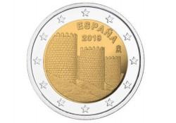 2 Euro Spanje 2019 Avila Unc