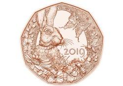 5 euro Oostenrijk 2019 'Lente' Unc