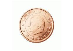2 Cent België 2001 UNC