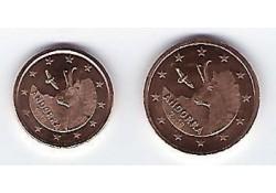 1 & 2 Cent Andorra 2018 Unc