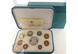 Proofset Vaticaan 2019 Met 20 euro zilver