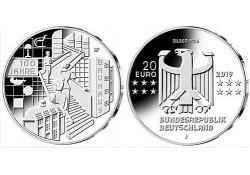 """20 Euro Duitsland 2019 J  """"100 jaar Bauhaus"""" Unc"""