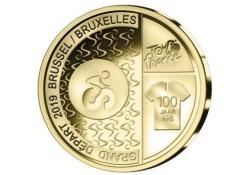 """België 2019 2½ Euro 'Grand Départ Brussel"""" Unc"""