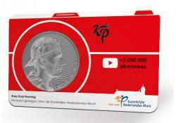 Nederland 2019 Penning in Coincard Enzo Knol