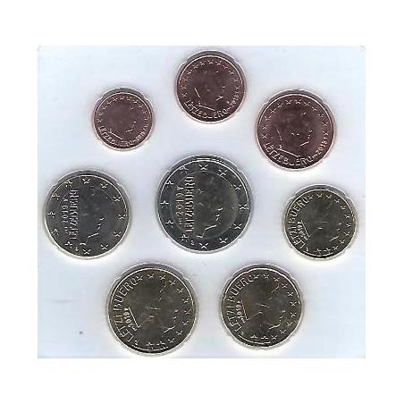 Serie Luxemburg 2019 met muntteken Servaas Unc