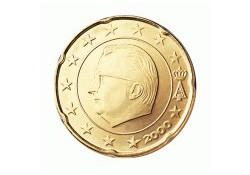 20 Cent België 2001 UNC