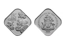 Bahamas 2018 15 Cents Unc