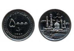 Iran 2013/1392 5000 Rials Unc