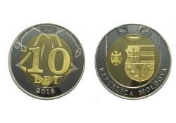 Moldavië 2018 10 Lei Unc