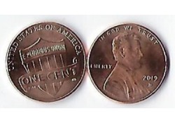 U.S.A. 1 Cent 2019 D Unc