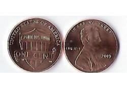U.S.A. 1 Cent 2019 (P) Unc