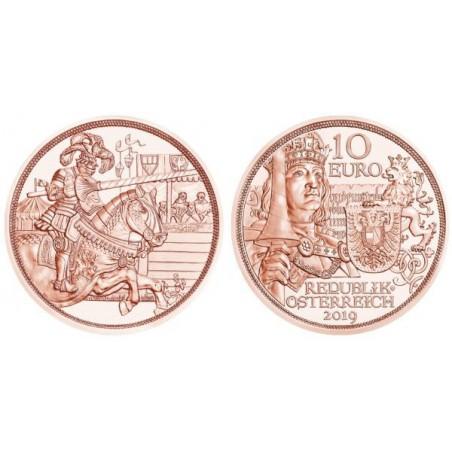10 Euro Oostenrijk 201 Ridder Unc Voorverkoop