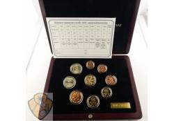 Proofset Finland 2002 met gouden penning
