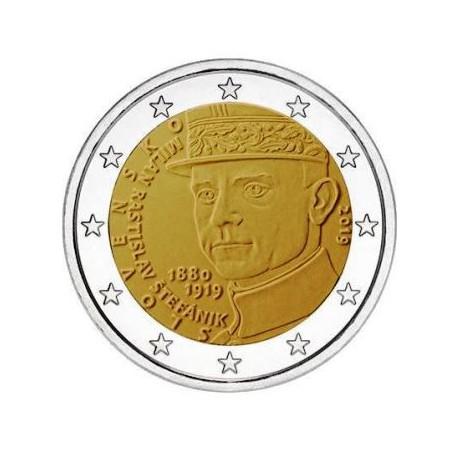 2 Euro Slowakije 2019 Stefanik Unc Voorverkoop*