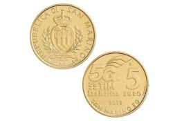 San Marino 2019 5 euro 5G Netwerk Unc