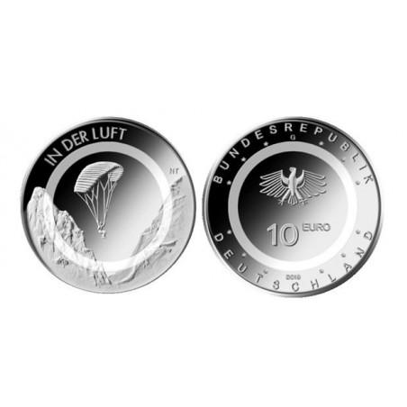 10 Euro Duitsland 2019 G In der Luft Unc