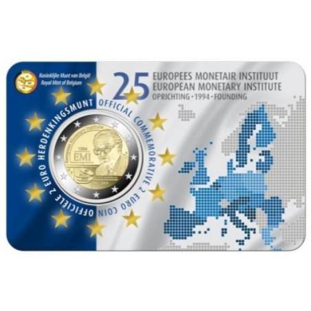 2 Euro België 2019 '25 jaar oprichting EMI' in coincard Vlaams Voorverkoop*