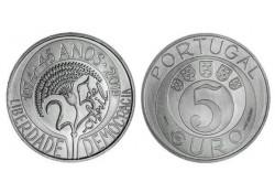 Portugal 2019 5 Euro '45 jaar Anjerrevolutie' Unc