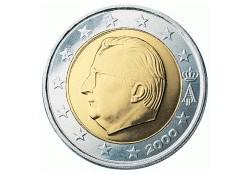 2 Euro België 2001 UNC