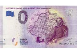 0 Euro biljet Nederland 2019 - De Beemster