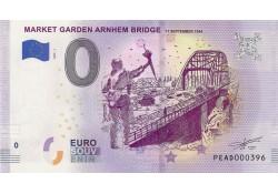 0 Euro biljet Nederland 2019 - Market Garden Arnhem Bridge