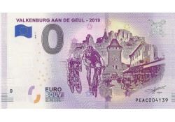 0 Euro biljet Nederland 2019 - Valkenburg aan de Geul