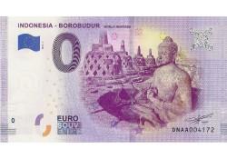 0 Euro biljet Indonesia 2019 - Borobudur