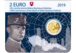 2 Euro Slowakije 2019 Stefanik Bu in coincard