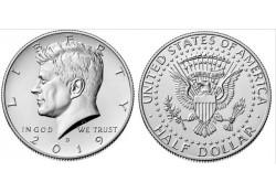 KM ??? U.S.A. ½ Dollar 2019 D Unc