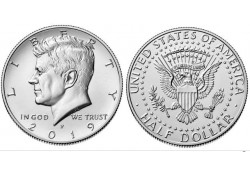 KM ??? U.S.A. ½ Dollar 2019 P Unc