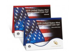 Uncirculated Coin Set 2019 D & P